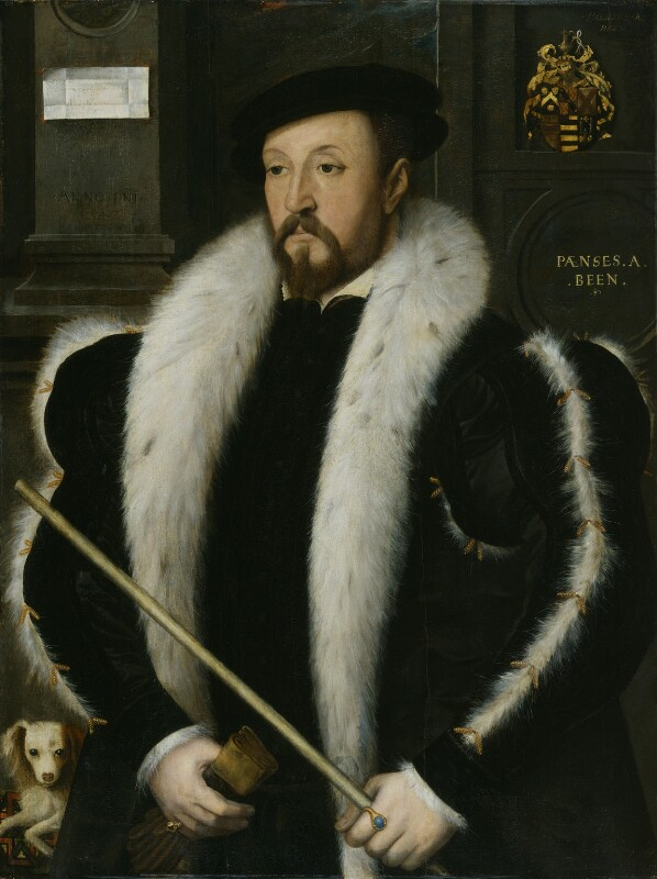Thomas Wentworth, 1st Baron Wentworth, by Unknown Anglo-Netherlandish artist, circa 1547-1550 - NPG 1851 - © National Portrait Gallery, London