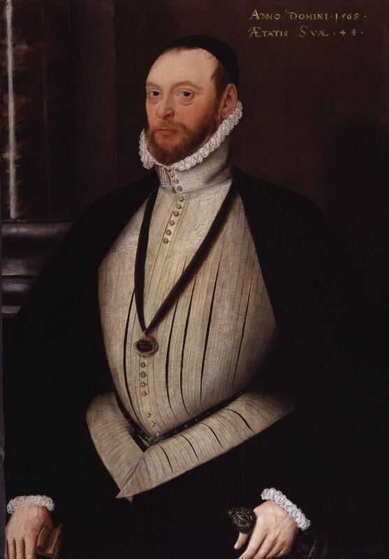Thomas Wentworth, 2nd Baron Wentworth, by Unknown artist, 1568 - NPG 1852 - © National Portrait Gallery, London