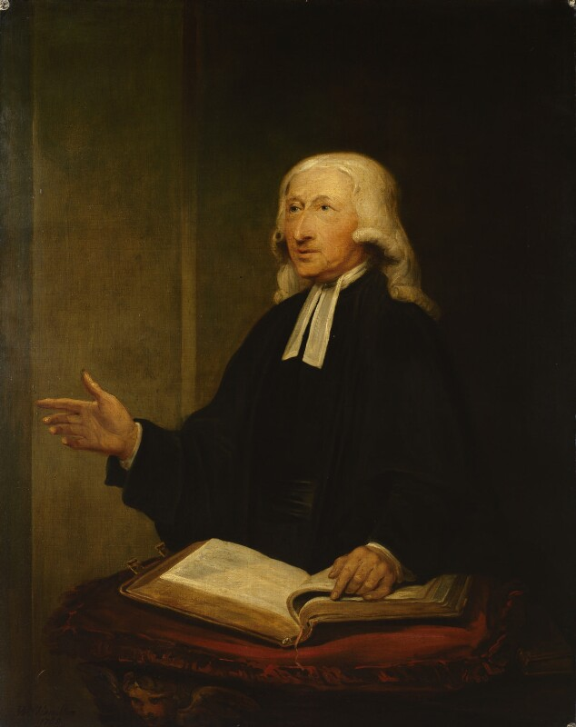 John Wesley, by William Hamilton, 1788 - NPG 317 - © National Portrait Gallery, London