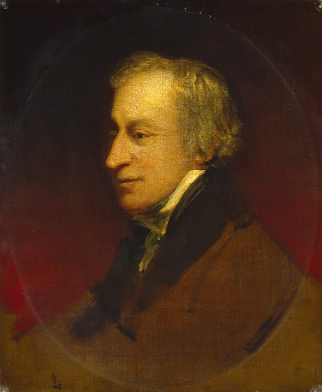 Samuel Wesley, by John Jackson, circa 1815-1820 - NPG 2040 - © National Portrait Gallery, London