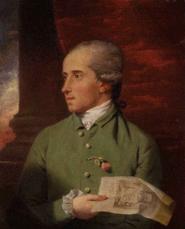 Benjamin West, by John Downman, 1777 - NPG 6264 - © National Portrait Gallery, London