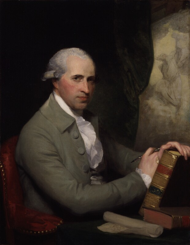 Benjamin West, by Gilbert Stuart, 1785 - NPG 349 - © National Portrait Gallery, London
