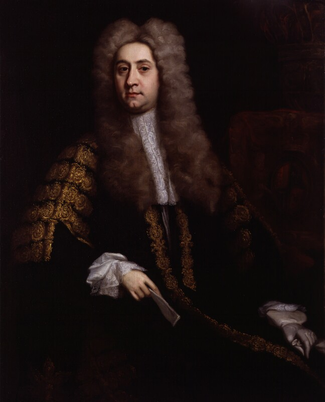 Richard West, attributed to Jonathan Richardson, 1725, based on a work of circa 1725 - NPG 17 - © National Portrait Gallery, London