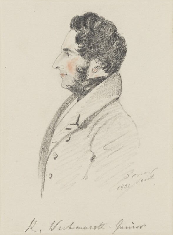 Richard Westmacott, by Alfred, Count D'Orsay, 1831 -NPG 4026(59) - © National Portrait Gallery, London