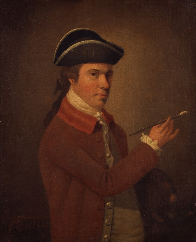 Unknown man, formerly known as Francis Wheatley, by Unknown artist, circa 1765-1770? - NPG 1278 - © National Portrait Gallery, London