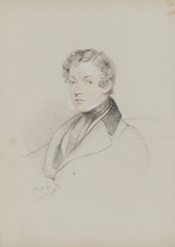 Sir Charles Wheatstone, by William Brockedon, 1837 - NPG 2515(84) - © National Portrait Gallery, London