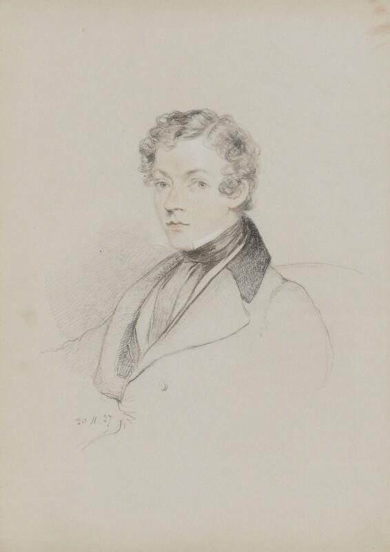 Sir Charles Wheatstone, by William Brockedon, 1837 - NPG 2515(84) - © National Portrait Gallery, London