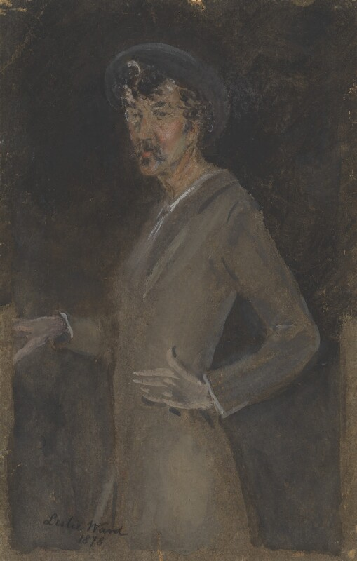 James Abbott McNeill Whistler, by Sir Leslie Ward, 1878 - NPG 1700 - © National Portrait Gallery, London