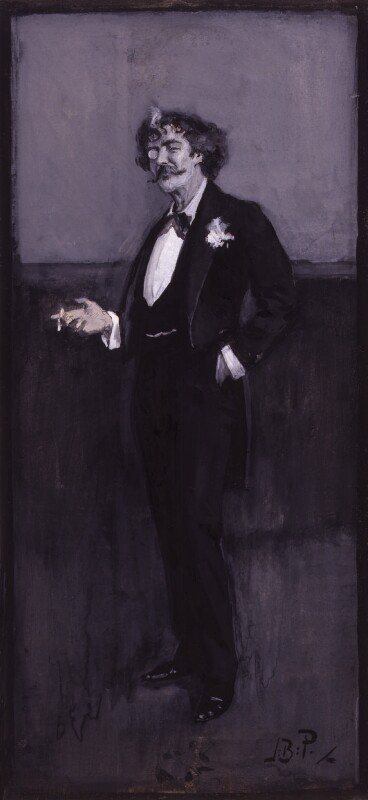 James Abbott McNeill Whistler, by Bernard Partridge, late 1880s - NPG 3541 - © National Portrait Gallery, London