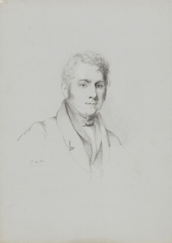 Henry Hopley White, by William Brockedon, 1832 - NPG 2515(58) - © National Portrait Gallery, London