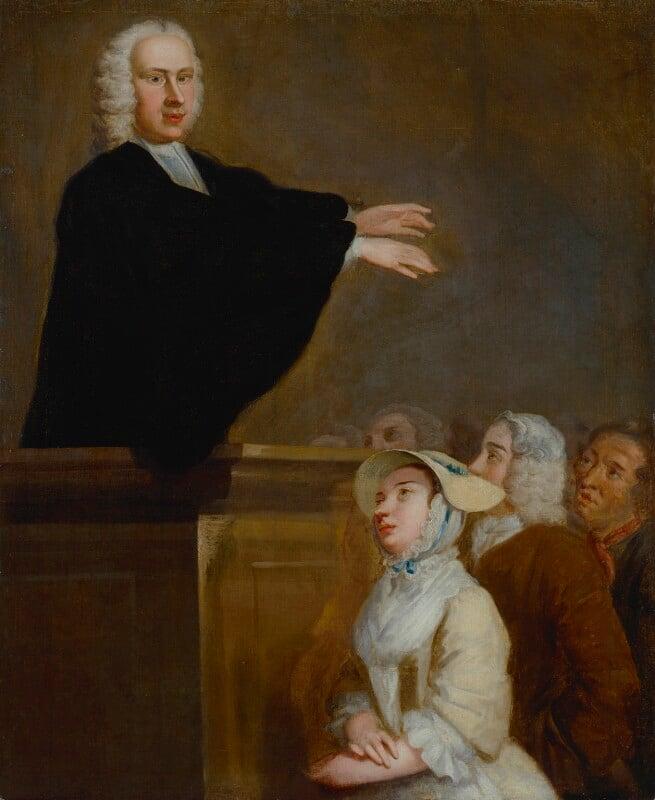 George Whitefield, by John Wollaston, circa 1742 - NPG 131 - © National Portrait Gallery, London