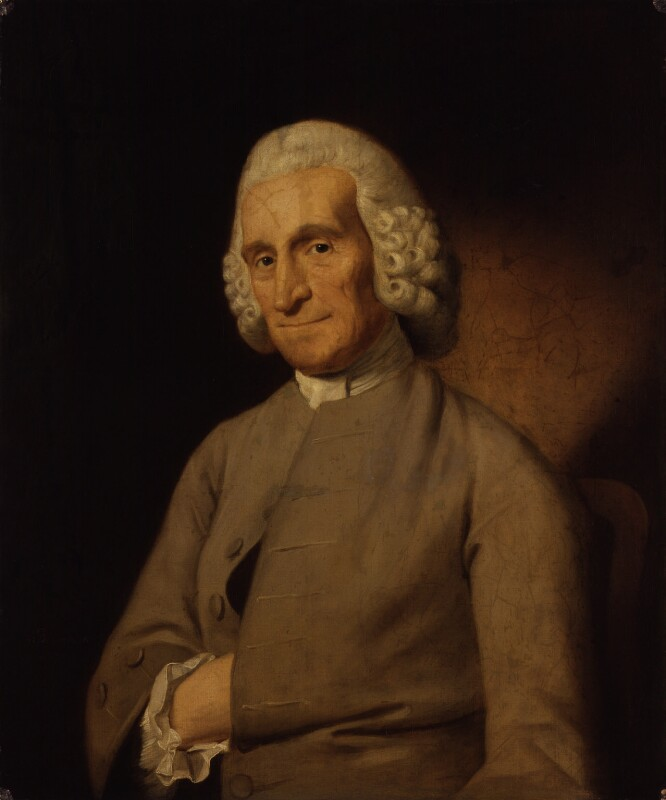 Unknown man, formerly known as Paul Whitehead, by John Downman, 1770 - NPG 1679 - © National Portrait Gallery, London