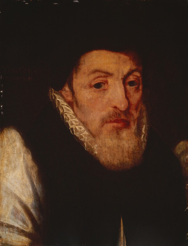 John Whitgift, by Unknown artist, probably early 17th century - NPG 660 - © National Portrait Gallery, London