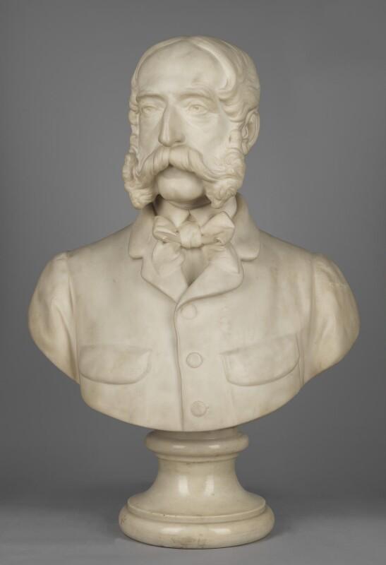 George John Whyte-Melville, by Sir Joseph Edgar Boehm, 1st Bt, 1879 - NPG 3836 - © National Portrait Gallery, London