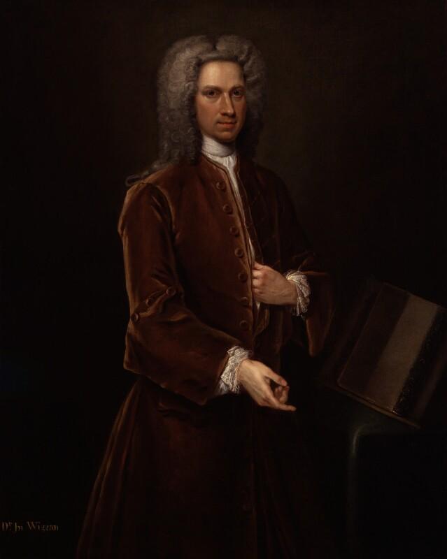 John Wigan, by Unknown artist, circa 1726-1739 - NPG 4588 - © National Portrait Gallery, London