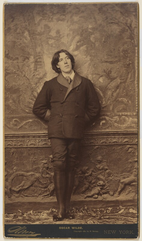 Oscar Wilde, by Napoleon Sarony, 1882 - NPG P24 - © National Portrait Gallery, London