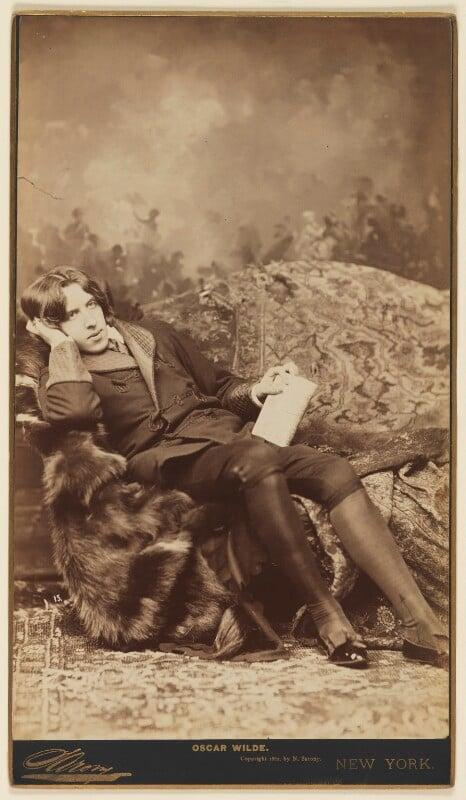 Oscar Wilde, by Napoleon Sarony, 1882 - NPG P25 - © National Portrait Gallery, London
