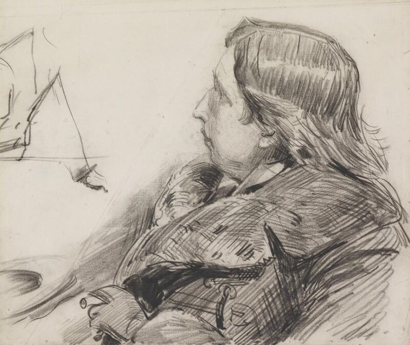 Oscar Wilde, by Sydney Prior Hall, 1888-1889 - NPG 2265 - © National Portrait Gallery, London