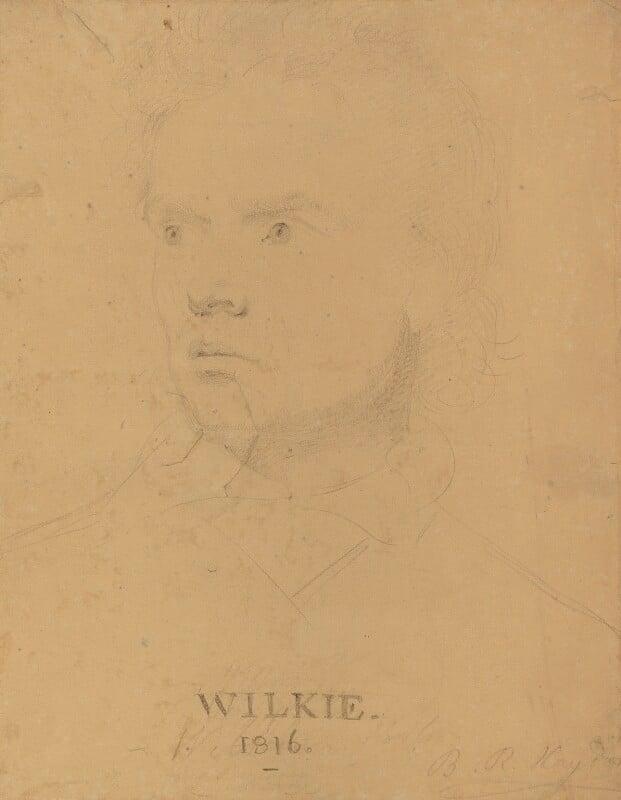 Sir David Wilkie, by Benjamin Robert Haydon, 1816 -NPG 2423 - © National Portrait Gallery, London