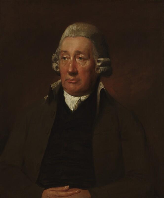John Wilkinson, by Lemuel Francis Abbott, based on a work of late 1790s -NPG 3785 - © National Portrait Gallery, London