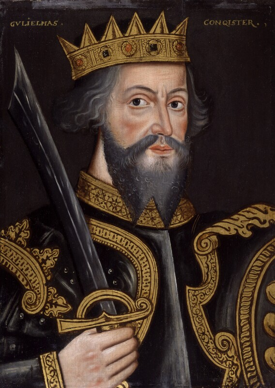King William I ('The Conqueror'), by Unknown artist, 1597-1618 - NPG 4980(1) - © National Portrait Gallery, London