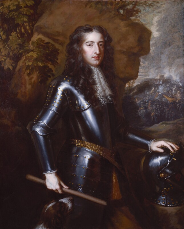 King William III, studio of Sir Peter Lely, based on a work of circa 1677 - NPG 1902 - © National Portrait Gallery, London
