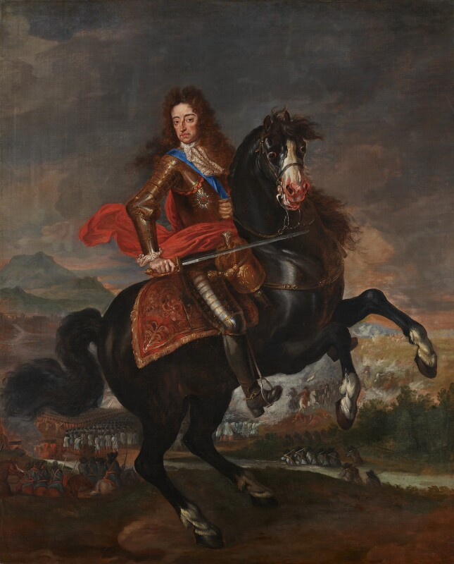 King William III, by Unknown artist, circa 1695 -NPG 1026 - © National Portrait Gallery, London