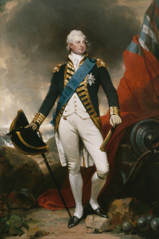 King William IV, by Sir Martin Archer Shee, circa 1800 -NPG 2199 - © National Portrait Gallery, London