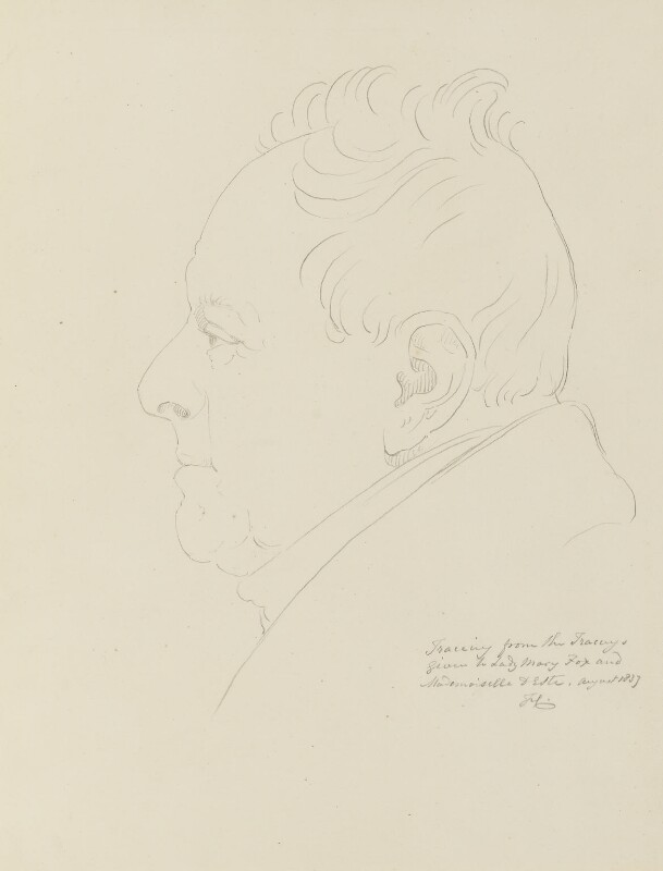 King William IV, after a drawing by Sir Francis Leggatt Chantrey, 1837, based on a work of 1830 - NPG 316a(141) - © National Portrait Gallery, London