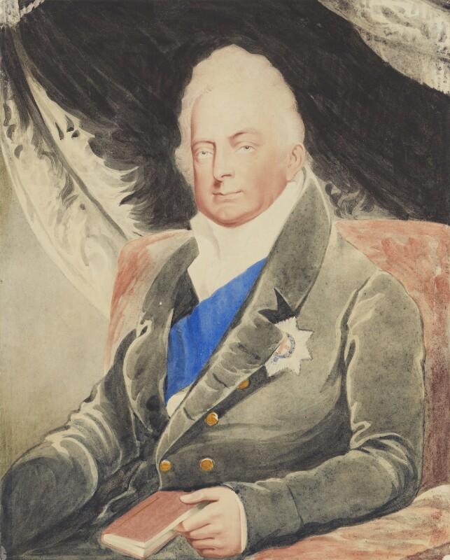 King William IV, after Henry Edward Dawe, 1830-1900, based on a work of 1830 - NPG 1163 - © National Portrait Gallery, London