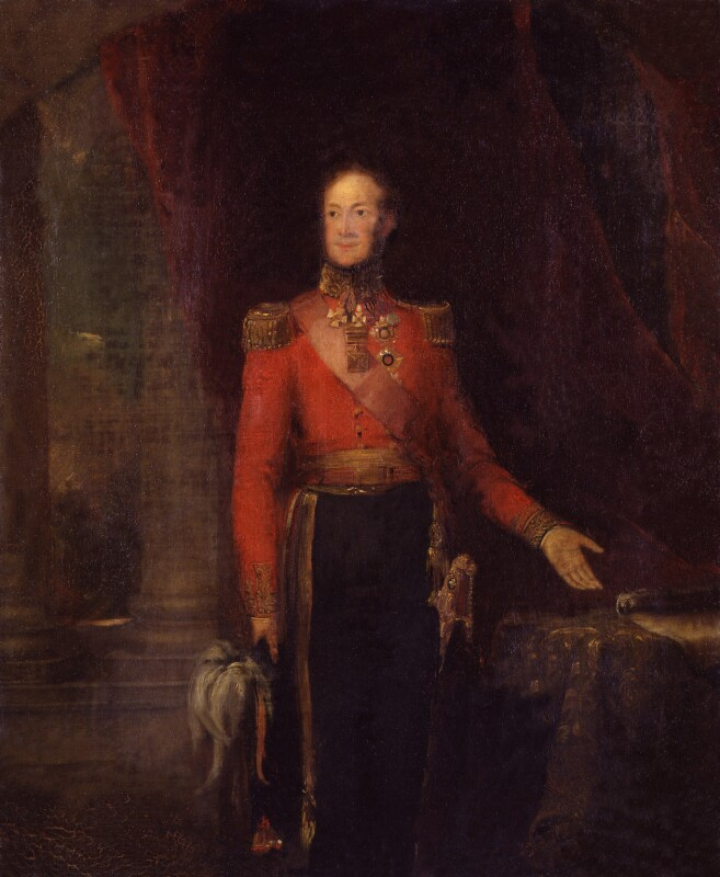 William II of Holland, by William Salter, 1840 - NPG 3768 - © National Portrait Gallery, London