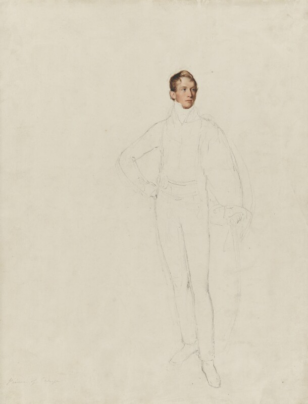 William II of Holland, by Thomas Heaphy, 1813-1814 - NPG 1914(20) - © National Portrait Gallery, London