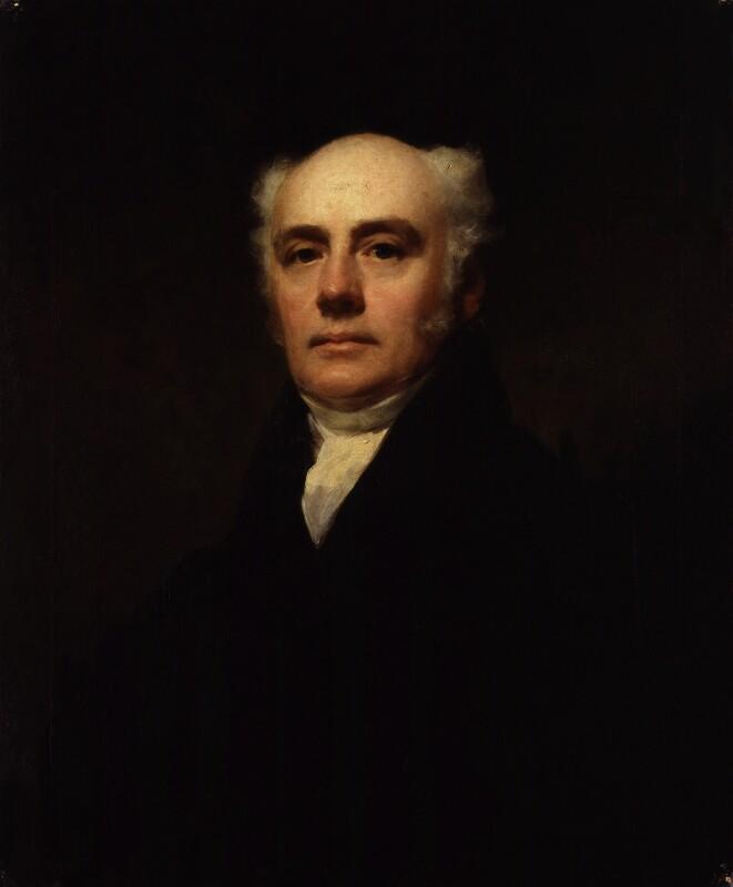 Hugh William Williams, by Sir Henry Raeburn, circa 1818 - NPG 965 - © National Portrait Gallery, London