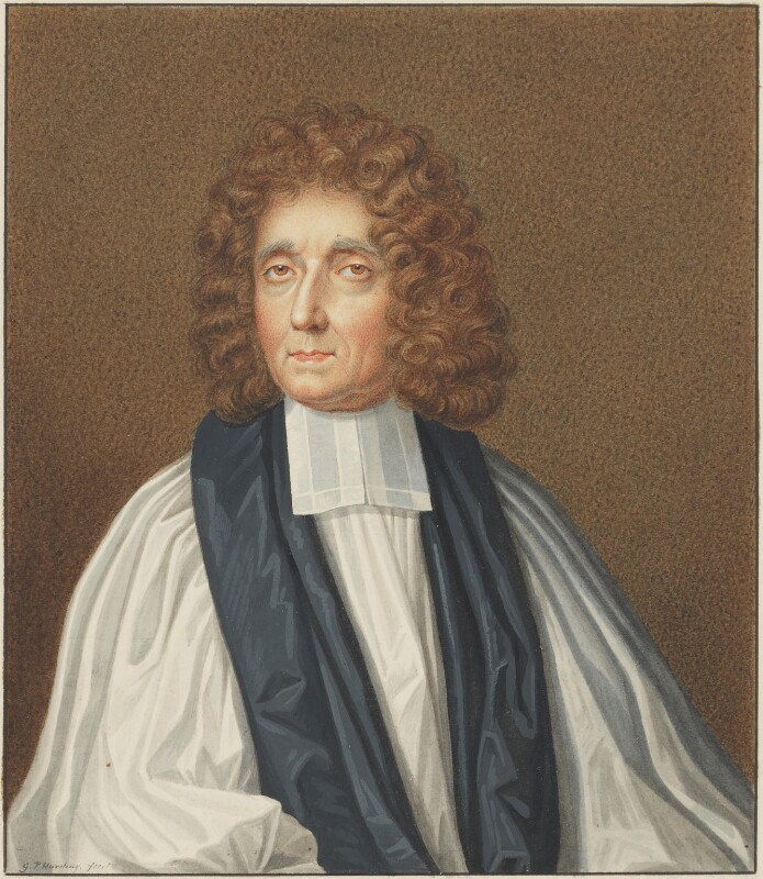 John Williams, by George Perfect Harding, after  Simon Verelst, early 19th century, based on a work of 1696 - NPG 2419 - © National Portrait Gallery, London