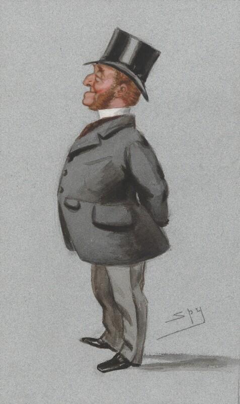 Charles Watkin Williams-Wynn, by Sir Leslie Ward, published in Vanity Fair 28 June 1879 - NPG 2605 - © National Portrait Gallery, London