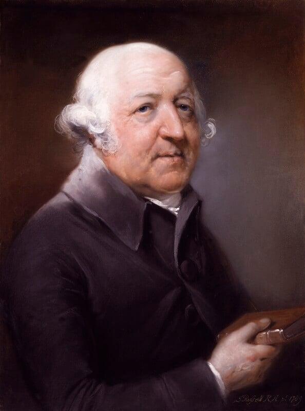 Francis Willis, by John Russell, 1789 -NPG 2186 - © National Portrait Gallery, London