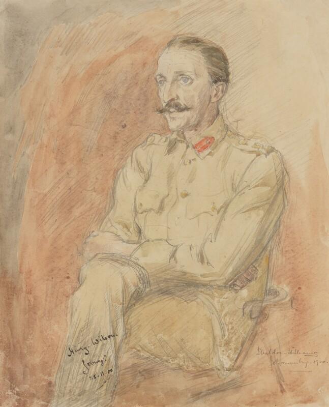 Sir Henry Hughes Wilson, 1st Bt, by Inglis Sheldon-Williams, 1900 - NPG 4039(7) - © National Portrait Gallery, London