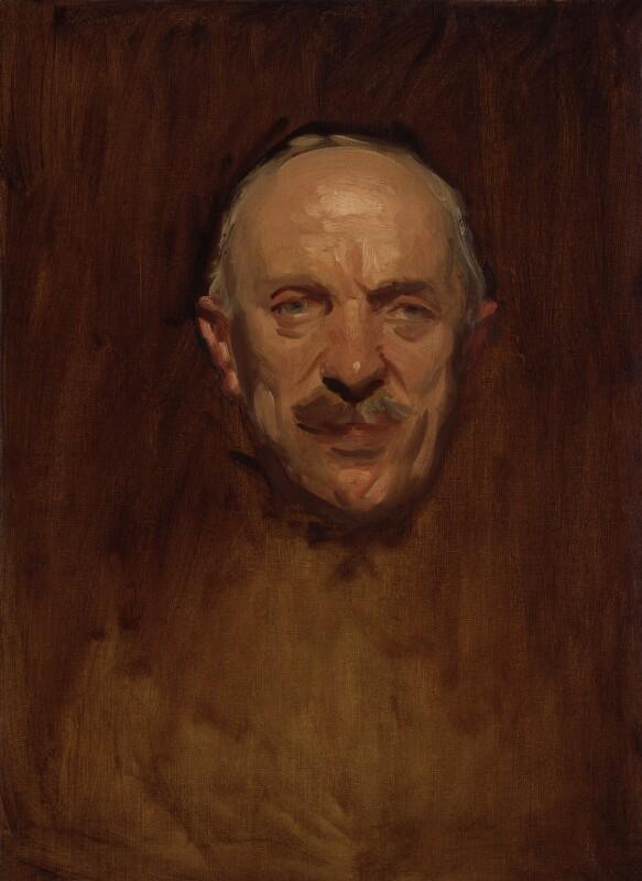 Sir Henry Hughes Wilson, 1st Bt, by John Singer Sargent, circa 1919-1922 - NPG 2889 - © National Portrait Gallery, London