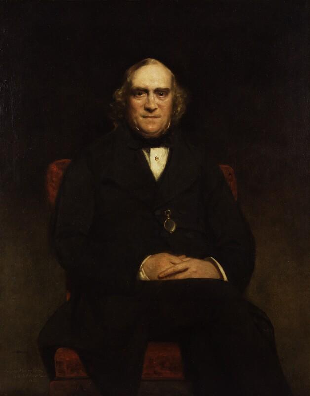 Hon. James Wilson, by Sir John Watson-Gordon, 1858 - NPG 2189 - © National Portrait Gallery, London