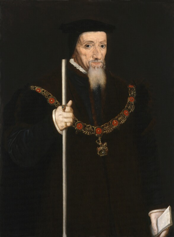 William Paulet, 1st Marquess of Winchester, by Unknown artist, 1560s? - NPG 65 - © National Portrait Gallery, London