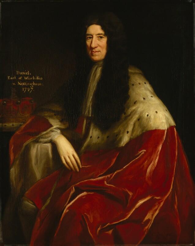 Daniel Finch, 2nd Earl of Nottingham and 7th Earl of Winchilsea, by Jonathan Richardson, 1726 -NPG 3622 - © National Portrait Gallery, London