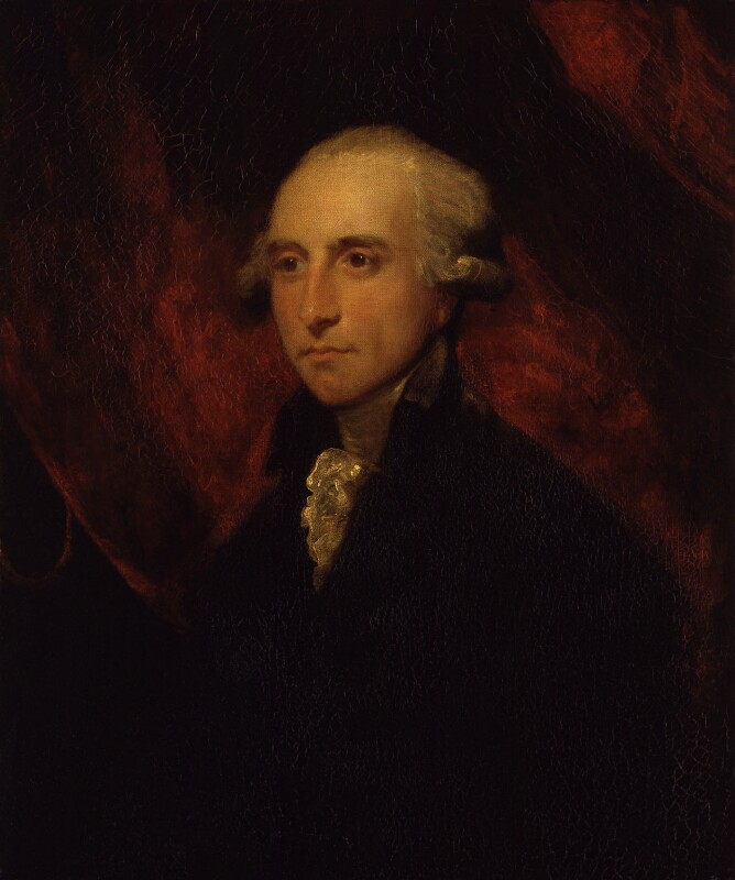 Hon. William Windham, by Sir Joshua Reynolds, 1787 -NPG 704 - © National Portrait Gallery, London