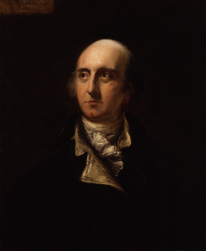 Hon. William Windham, by Sir Thomas Lawrence, 1802-1803 - NPG 38 - © National Portrait Gallery, London