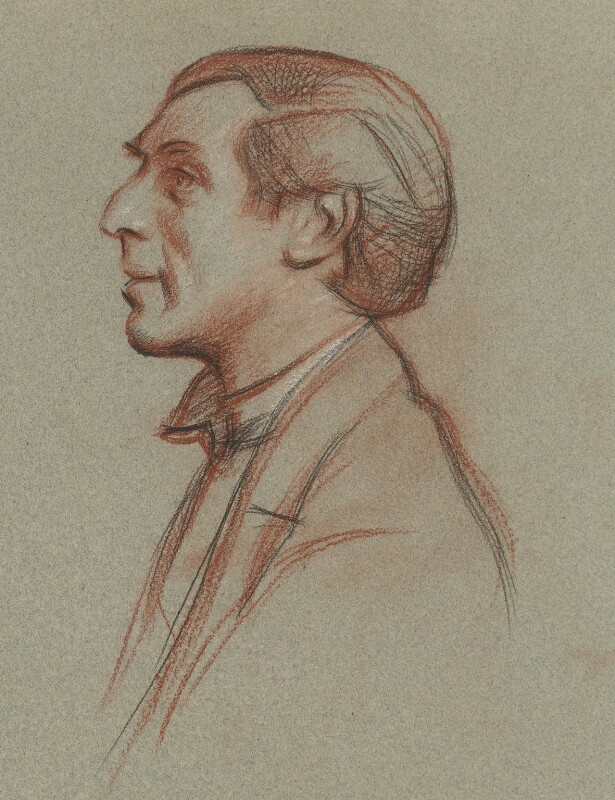 Humbert Wolfe, by William Rothenstein, circa 1931 - NPG 6699 - © National Portrait Gallery, London