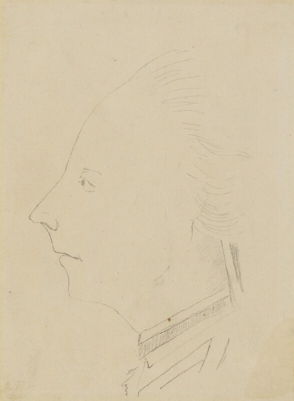 James Wolfe, by Harold Lee-Dillon, 17th Viscount Dillon, after a drawing attributed to  Sir Harvey Smyth, Bt, circa 1860-1884 - NPG 713a - © National Portrait Gallery, London