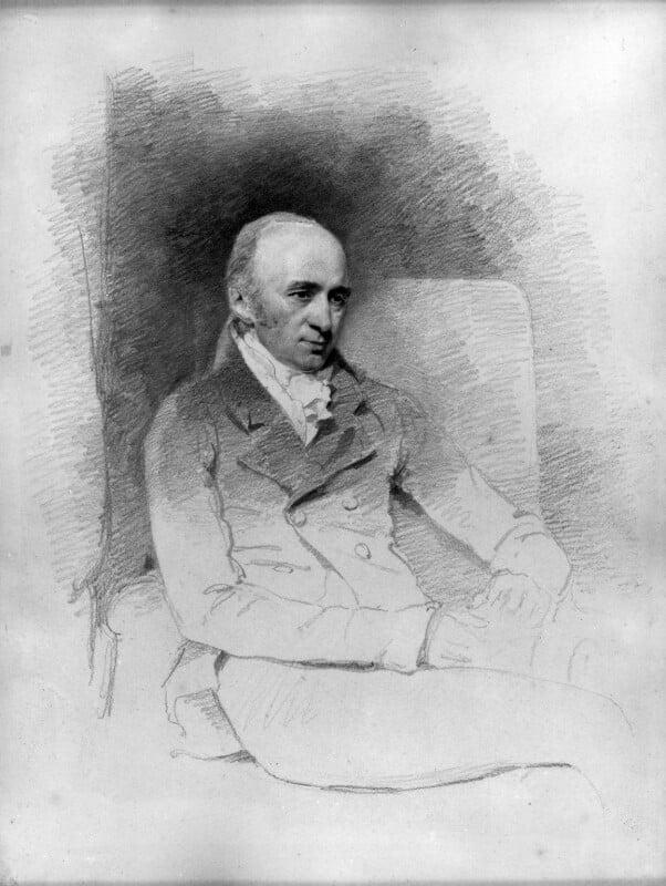 William Hyde Wollaston, by John Jackson, circa 1820-1824 - NPG 1703 - © National Portrait Gallery, London