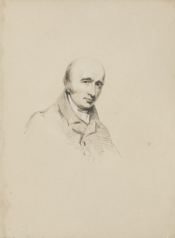 William Hyde Wollaston, by William Brockedon, circa 1830 - NPG 2515(10) - © National Portrait Gallery, London