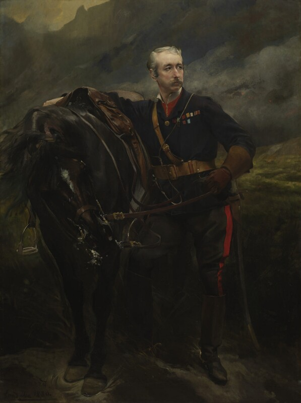 Garnet Joseph Wolseley, 1st Viscount Wolseley, by Paul Albert Besnard, 1880 - NPG 1789 - © National Portrait Gallery, London