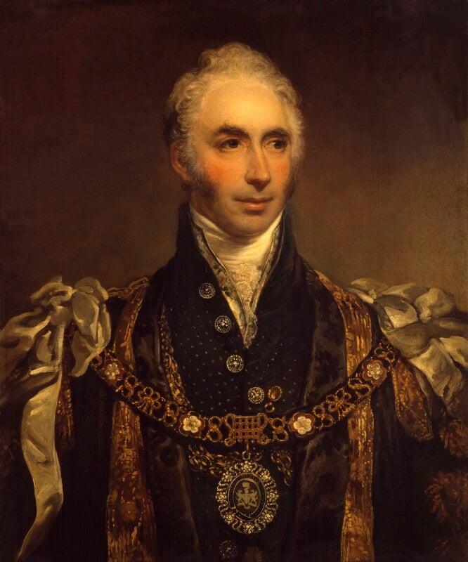 Sir Matthew Wood, 1st Bt, by Arthur William Devis, 1815-1816 - NPG 1481 - © National Portrait Gallery, London