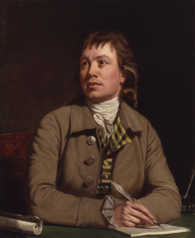 William Woodfall, by Thomas Beach, 1782 - NPG 169 - © National Portrait Gallery, London